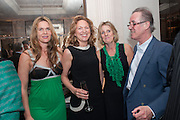 CELIA WALDEN; JESSICA FELLOWES; JULIET NICOLSON; BILL SHEPHERD Juliet Nicolson - book launch party for  her latest novel Abdication, about British society after the death of George V.  The Gallery at The Westbury, 37 Conduit Street, Mayfair, London, 12 June 2012