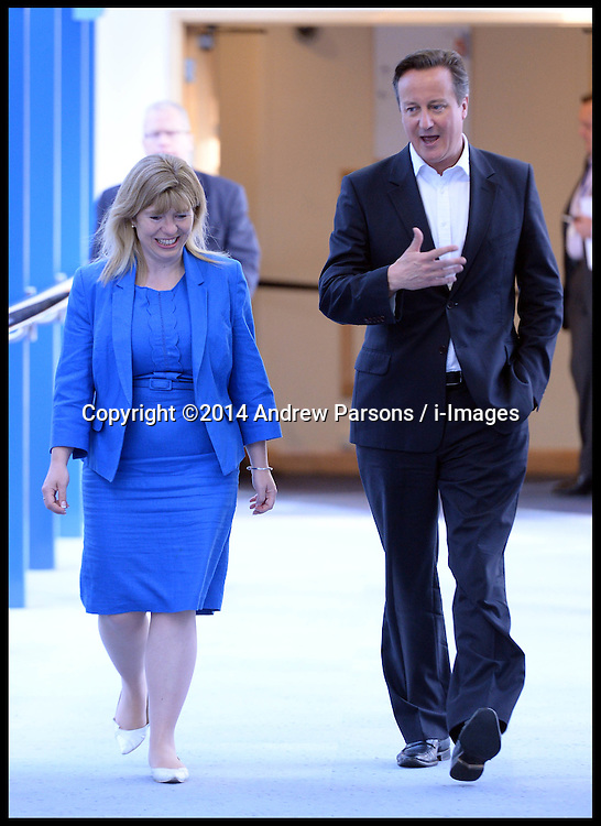 Image ©Licensed to i-Images Picture Agency. 30/09/2014. Birmingham, United Kingdom. Prime Minister David Cameron on day 3 of the Conservative Party Conference. Picture by Andrew Parsons / i-Images