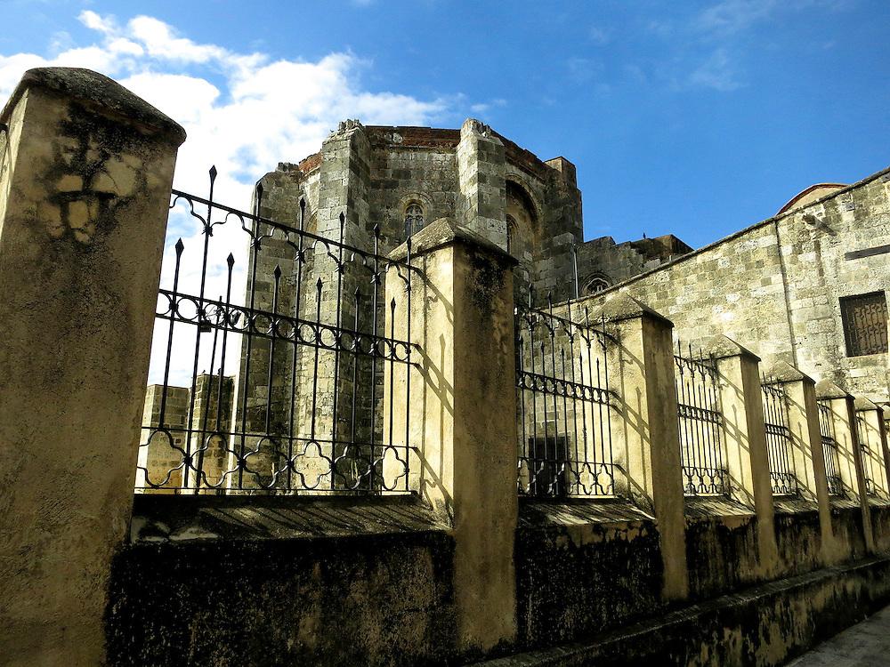 Basilica Cathedral of Santa María la Menor, Zona Colonial, Santo Domingo, Dominican Republic