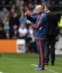 Brentford Manager Lee Carsley - Mandatory byline: Robbie Stephenson/JMP - 07966 386802 - 03/10/2015 - FOOTBALL - iPro Stadium - Derby, England - Derby County v Brentford - Sky Bet Championship