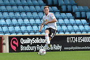 Oliver Turton  during the Sky Bet League 1 match between Scunthorpe United and Crewe Alexandra at Glanford Park, Scunthorpe, England on 15 August 2015. Photo by Ian Lyall.