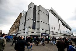 Fans arrive before the game - Photo mandatory by-line: Rogan Thomson/JMP - 07966 386802 - 30/11/2014 - SPORT - FOOTBALL - London, England - White Hart Lane - Tottenham Hotspur v Everton - Barclays Premier League.