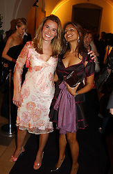 Left to right, TANA RAMSAY wife of chef Gordon Ramsay and DIVIA LALVANI<br />
