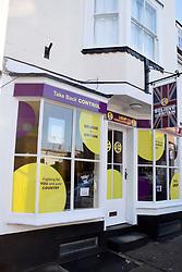 UKIP offices, Harwich, Essex UK