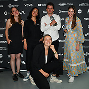 Partisan Records receive awards at AIM Independent Music Awards at the Roundhouse on 3 September 2019, Camden Town, London, UK.