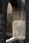 Detail in abandoned Caravanserai. Old City. Sanaa.