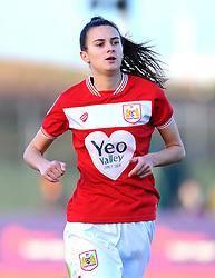 Rosella Ayane of Bristol City in action- Mandatory by-line: Nizaam Jones/JMP - 27/01/2019 - FOOTBALL - Stoke Gifford Stadium - Bristol, England - Bristol City Women v Yeovil Town Ladies- FA Women's Super League 1