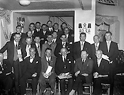 17/04/1960<br /> 04/17/1960<br /> 17 April 1960<br /> G.A.A. Annual Congress in Dublin. The Annual Congress of the G.A.A. was held at the Gresham Hotel, Dublin. Picture shows some of the Southern delegates to the Congress dueing the Luncheon Interval.