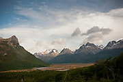 Valle Carbajal, near Ushuaia, Tierra del Fuego, southernmost city in the world. Argentina.