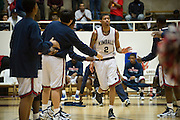 Keith Fraizer (2) of Kimball is introduced before tipoff against Carrollton Newman Smith in the Class 4A area-round playoff game Friday, February 22, 2013 at the Alfred J. Loos Field House in Addison, Texas. (Cooper Neill/The Dallas Morning News)