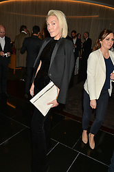 OLIVIA BUCKINGHAM at a party to celebrate Stuart Semple as artist in residence at The Bulgari Hotel held at Il Bar, Bulgari Hotel, 171 Knightsbridge, London on 14th October 2015.