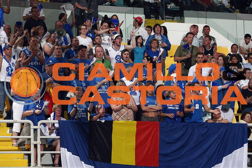 DESCRIZIONE : Cyprus Cipro Eurocup Men Final Four 2008 Final Barons LMT Dexia Mons-Hainaut<br /> GIOCATORE : Tifo Tifosi Fan Fans Supporter Supporters<br /> SQUADRA : Dexia Mons-Hainaut<br /> EVENTO : Eurocup Men Final Four 2008<br /> GARA : Bourges Basket UMMC Ekaterinburg<br /> DATA : 20/04/2008 <br /> CATEGORIA :<br /> SPORT : Pallacanestro<br /> AUTORE : Agenzia Ciamillo-Castoria/E.Castoria<br /> Galleria : Fiba Europe 2007-2008<br /> Fotonotizia : Cyprus Cipro Eurocup Men Final Four 2008 Final Barons LMT Dexia Mons-Hainaut<br /> Predefinita :
