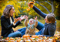 Family portrait session with the Labelle-Mannings at the Governor General's in Ottawa on October 15 2012.