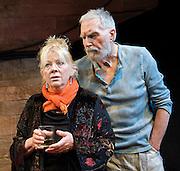 Danger: Memory!<br /> byArthur Miller<br /> at The Jermyn Street Theatre, London, Great Britain <br /> press photocall<br /> 29th June 2011 <br /> <br /> David Burke<br /> Anna Calder-Marshall<br /> <br /> directed by Ed Viney <br /> <br /> <br /> Photograph by Elliott Franks