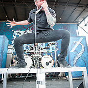 Suicide Silence at Mayhem Festival in Bristow, VA on  August 3, 2014