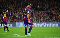 Luis SUAREZ  - 10.12.2014 - Barcelone / Paris Saint Germain - Champions League<br />Photo : Dave Winter / Icon Sport