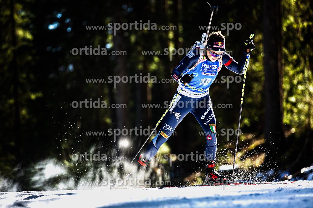 Dorothea Wierer (ITA) during the Women 15 km Individual Competition at day 2 of IBU Biathlon World Cup 2019/20 Pokljuka, on January 23, 2020 in Rudno polje, Pokljuka, Pokljuka, Slovenia. Photo by Peter Podobnik / Sportida