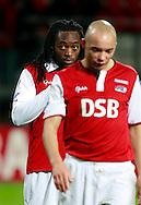 24-11-2007: Voetbal:AZ-WILLEM II: ALKMAAR<br /> Kiki Musampa debuteerde vanavond voor enkele minuten<br /> Foto: Geert van Erven