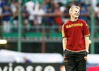 24-08-2008 Milano Italy sport calcio Inter-Roma Supercoppa Italiana 2008 nella foto :   riise ph. Davide Elis / Agenzia Insidefoto