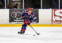 2019-10-13   Tyringe, Sweden: Tyringe SoSs (22) Felix Lidgren during the game between Tyringe SoSs and Halmstad Hammers at Tyrs Hov (Photo by: Jonathan Persson   Swe Press Photo)<br /> <br /> Keywords: Tyrs Hov, Tyringe, Hockeyettan, Hockeyettansödra, Tyringe SoSs, Halmstad Hammers, (Match code th191013)