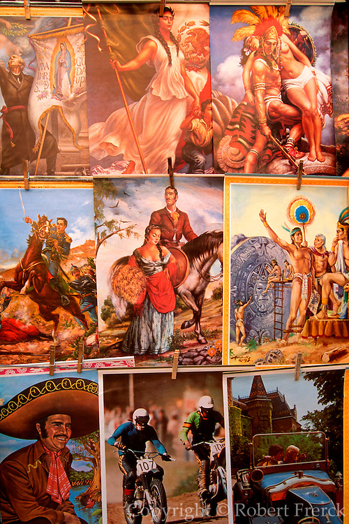 MEXICO, MEXICO CITY Chapultepec Park, posters for sale