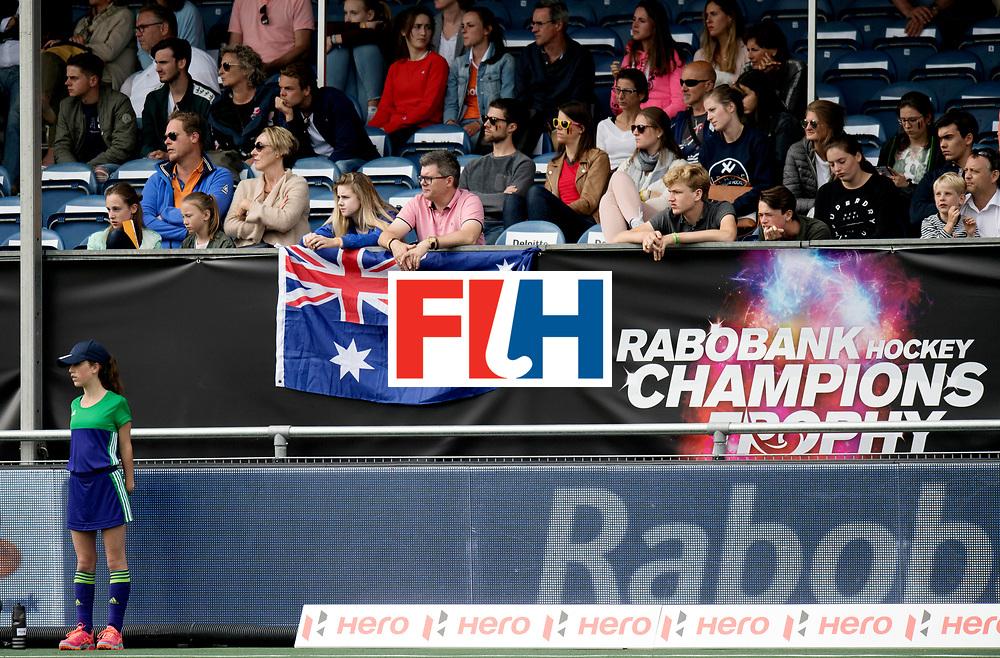 BREDA - Rabobank Hockey Champions Trophy<br /> Australia - Pakistan<br /> Photo: Ausralian fans.<br /> COPYRIGHT WORLDSPORTPICS FRANK UIJLENBROEK
