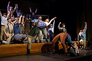 "Sharon Academy's performance of ""Newsies"" in Randolph, Vt., on Nov. 16, 2018. Profits from sales to benefit TSA's Annual Fund. (Photo by Geoff Hansen)"