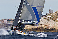 FRANCE, Marseille. 18th June 2011. AUDI MedCup Marseille Trophy. Costal Race. TP52, CONTAINER.