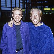 NLD/Utrecht/19971223 - Pittig Popconcert 1997 Utrecht, Jeroen Kijk in de Vegte en Danny Rook