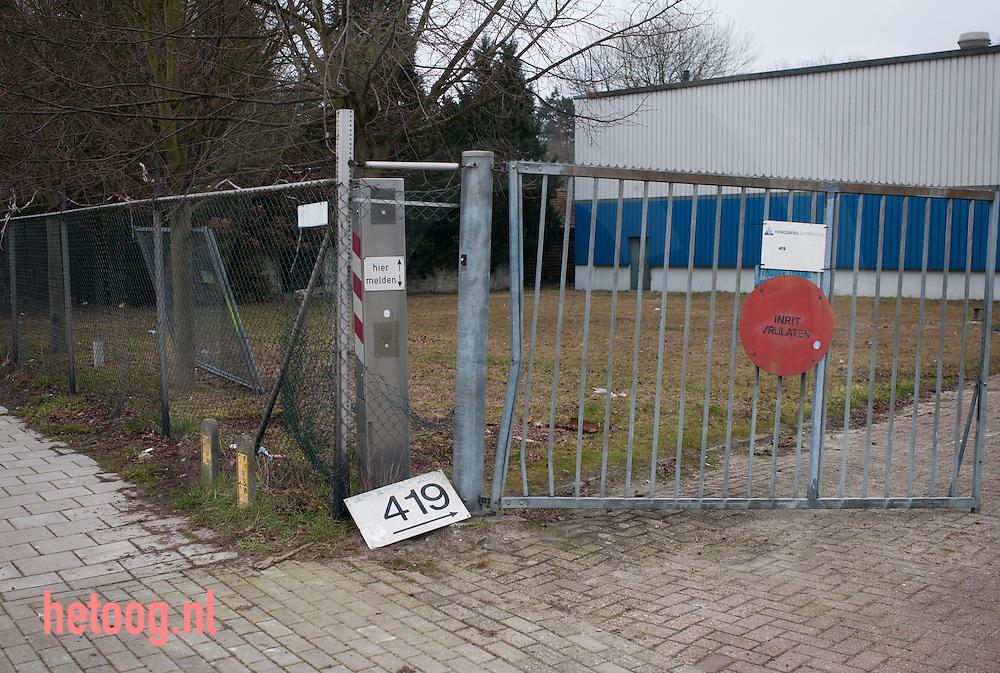 nederland, enschede 19feb2015 vrijwel verlaten industrieterrein aan de noord esmarkerrondweg 419 in Enschede