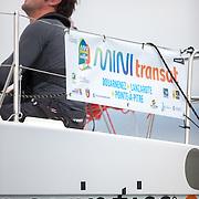 Départ du Trophée MAP 2015 à Douarnenez en classe mini