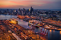 Port of Seattle & Downtown Seattle