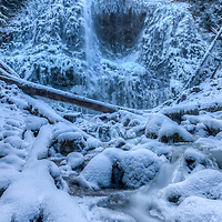 Proxy Falls winter splendor