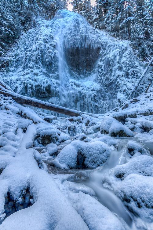 Proxy Falls winter splendor