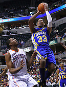 NBA-Indiana Pacers vs Charlotte Bobcats-Indianapolis, In