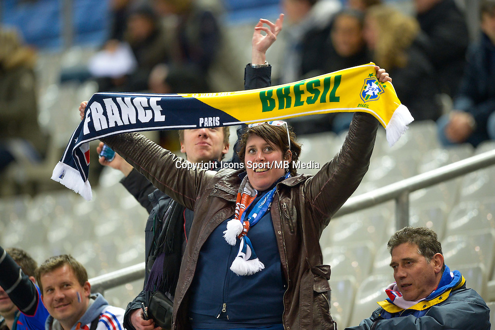 Supporters  - 26.03.2015 - France / Bresil - Match Amical<br />Photo : Andre Ferreira / Icon Sport