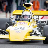 #58, March 721G (1972), Richard Smeeton (GB), Silverstone Classic 2015, FIA Masters Historic Formula One. 25.07.2015. Silverstone, England, U.K.  Silverstone Classic 2015.
