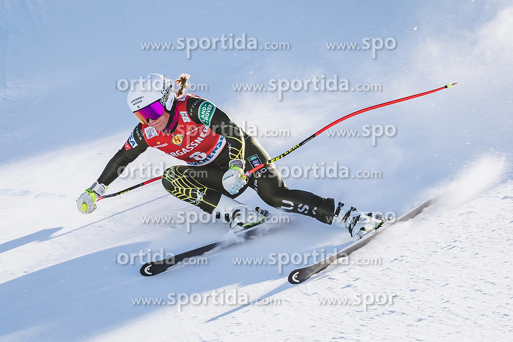 10.01.2020, Keelberloch Rennstrecke, Altenmark, AUT, FIS Weltcup Ski Alpin, Abfahrt, Damen, 2. Training, im Bild Alice Mckennis (USA) // Alice Mckennis of the USA in action during her 2nd training run for the women's Downhill of FIS ski alpine world cup at the Keelberloch Rennstrecke in Altenmark, Austria on 2020/01/10. EXPA Pictures © 2020, PhotoCredit: EXPA/ Johann Groder