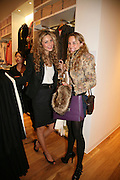 TAMSIN EGERTON AND RACHEL MITCHEM, Uniqlo - Japanese store launch party, 311 Oxford Street, London, W1. 6 November 2007. -DO NOT ARCHIVE-© Copyright Photograph by Dafydd Jones. 248 Clapham Rd. London SW9 0PZ. Tel 0207 820 0771. www.dafjones.com.