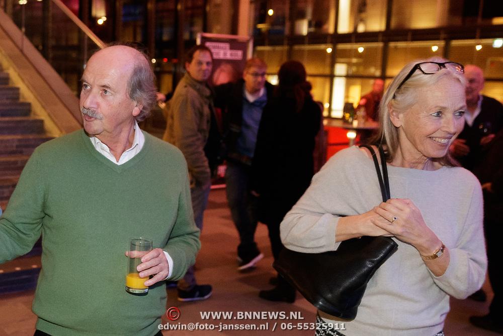 NLD/Amsterdam/20181203 - Hommage aan Tineke de Nooy, Jef Rademakers en partner Ursula