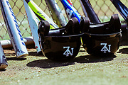 NZ helmets and bats.<br /> BCO U15 Championship. Lloyd Elsmore Park, Pakuranga, Auckland, New Zealand. 20 January 2018. &copy; Copyright Image: Marc Shannon / www.photosport.nz.