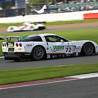 #72 Chevrolet Corvette C6.R Z06, Luc Alphand Aventures (drivers: Goueslard, Moreau), Silverstone LMS 6h 2008