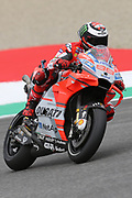 #99 Jorge Lorenzo, Spanish: Ducati Team during Friday Practice at the MotoGP Gran Premio d'Italia Oakley at Autodromo del Mugello Circuit, Senni-San Carlo, Italy on 1 June 2018. Picture by Graham Holt.