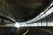 Tunnel on the Chesapeake Bay Bridge, Maryland, USA