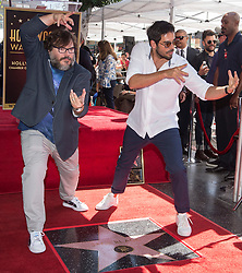 Eli Roth attends the ceremony honoring Jack Black with a star on the Hollywood Walk Of Fame on September 18th, 2018 in Los Angeles, California. Photo by Lionel Hahn/ABACAPRESS.COM