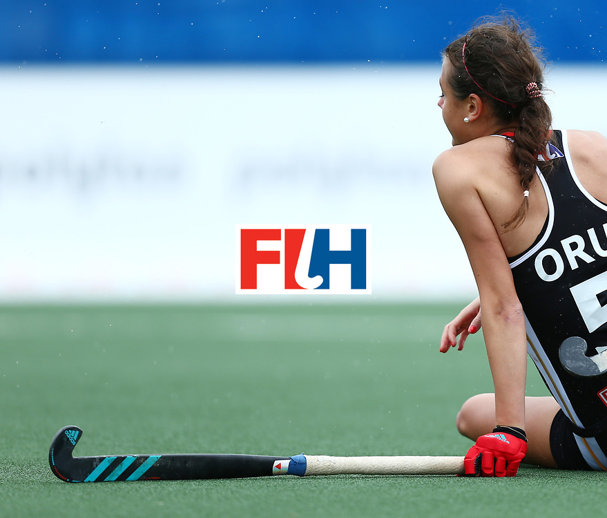 New Zealand, Auckland - 18/11/17  <br /> Sentinel Homes Women&rsquo;s Hockey World League Final<br /> Harbour Hockey Stadium<br /> Copyrigth: Worldsportpics, Rodrigo Jaramillo<br /> Match ID: 10293 - ENG vs GER<br /> Photo: (5) ORUZ Selin