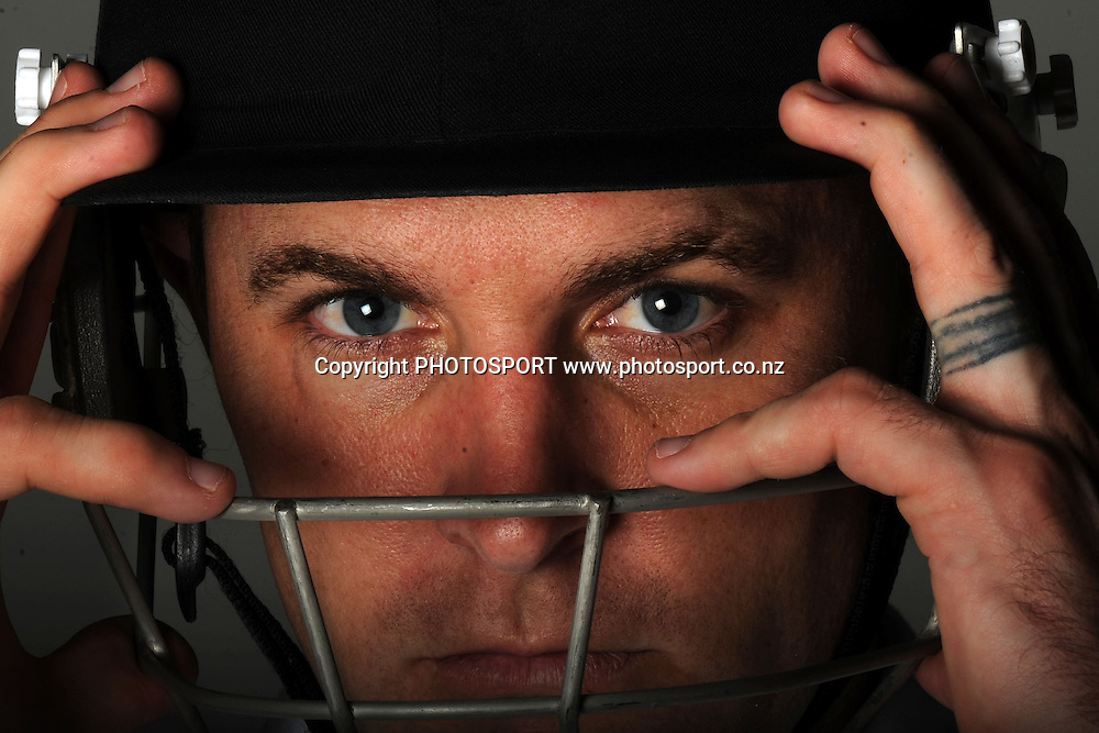 Brendon McCullum photoshoot. Cricket, Photosport Studio, Auckland New Zealand. Wednesday 22 June 2011 Photo: Andrew Cornaga/photosport.co.nz