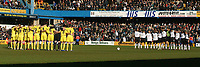 Barclaycard Premiership<br />Saturday 13th March 2004<br />Loftus Road<br />Fulham v Leeds United <br />Picture Jo Caird/Sportsbeat Images<br />MINUTES SILENCE PRE MATCH