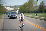 Ryan Bates rushes to complete the biking portion of the Race for a Reason Triathlon. Photo by: Ross Brinkerhoff. Race for a Reason, Race 4 A Reason, Annual Events, Events, Students, Faculty & Staff