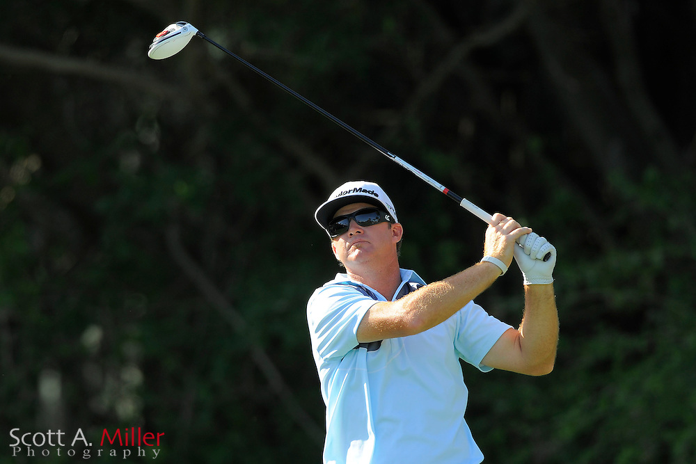 Brian Gay during the second round of the Honda Classic at PGA National on March 2, 2012 in Palm Beach Gardens, Fla. ..©2012 Scott A. Miller.